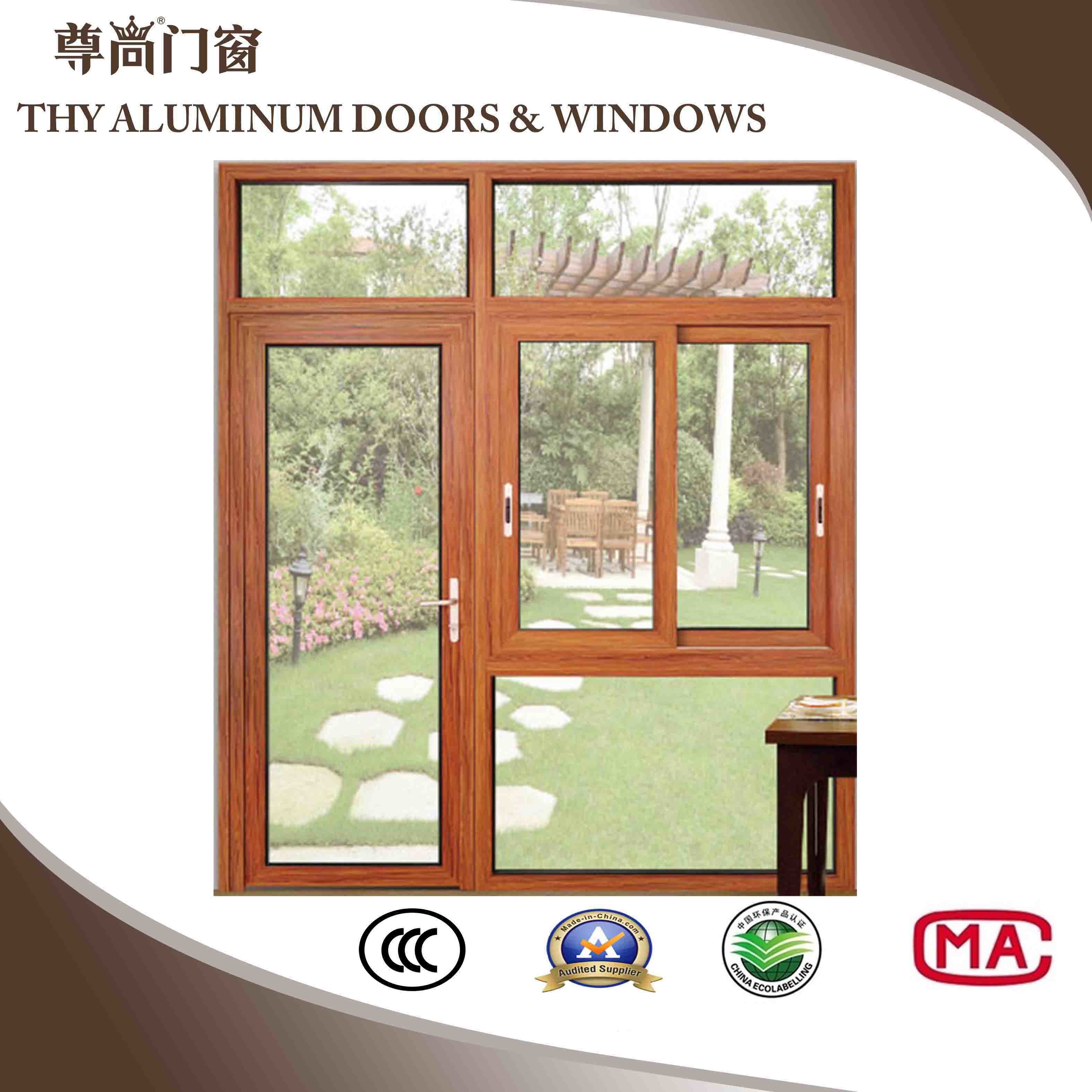 China New Model Aluminum Windows And Doors For Domestic And