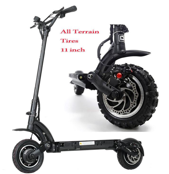 [Hot Item] Offroad Tire All Terrain Wheel Electric Motor Scooter Bike