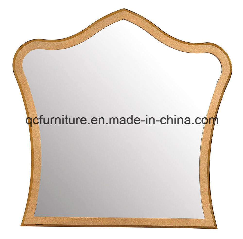 China Stainless Steel Gold Mirror Sheet Decorative Framed Mirror ...