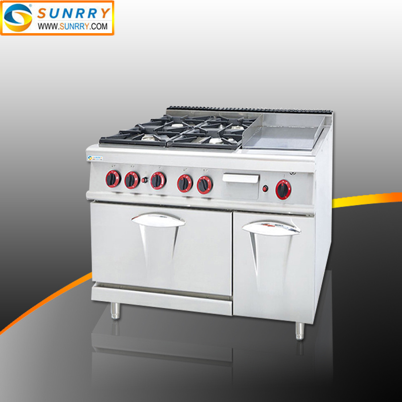 Hot Item Heavy Duty Range Restaurant Equipment Commercial Gas Stove