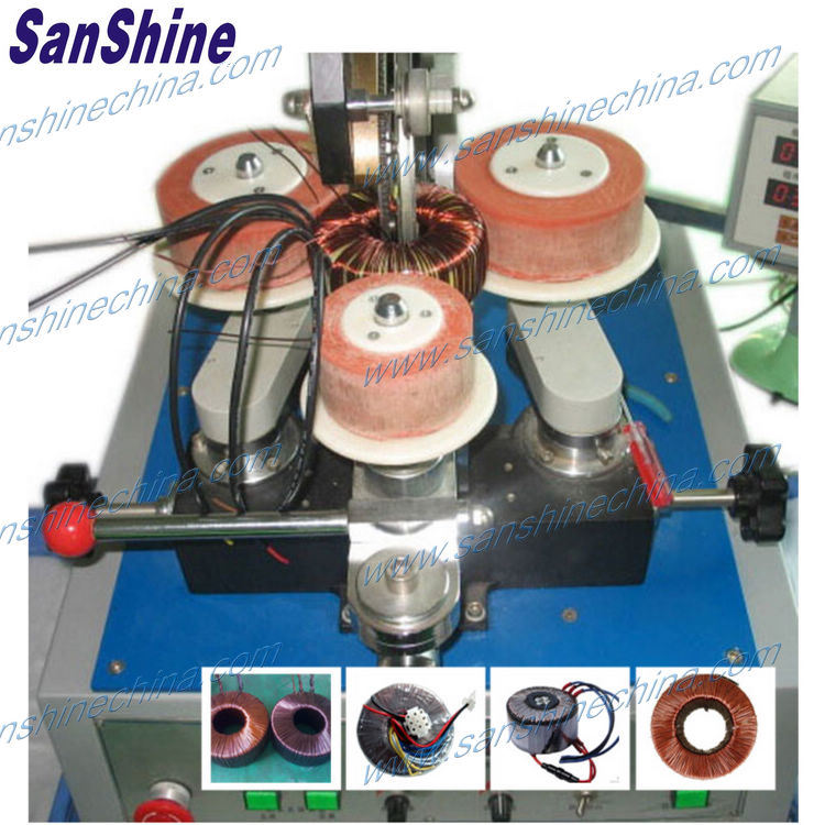 Automatic Big Toroid Coil Winding Machine (SS300 Series)
