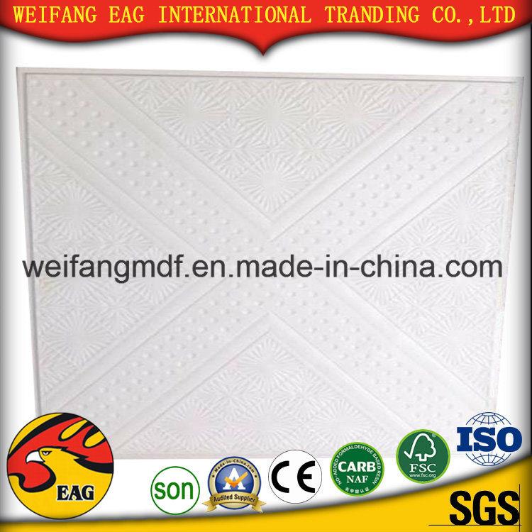 China Aluminum Foil Back Pvc Face Gypsum Ceiling Tilesceiling