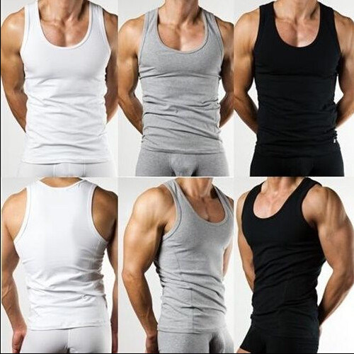 68ab024571ea0 China Mens Sexy Slim Fit Singlet   Vest  Tank Tops - China Tank Tops ...