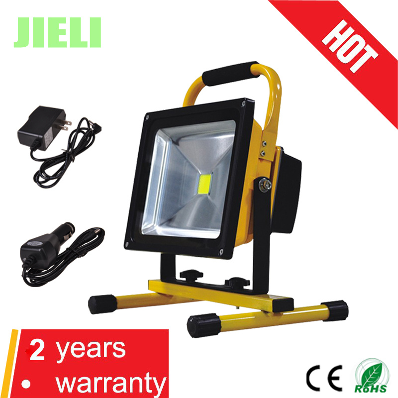 Outdoor Camping Portable 30W Rechargeable LED Flood Light