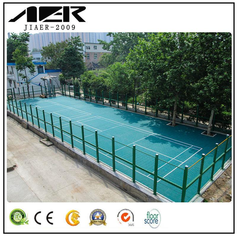 China Suspended Floor Systems Pp Sports Interlocking Futsal