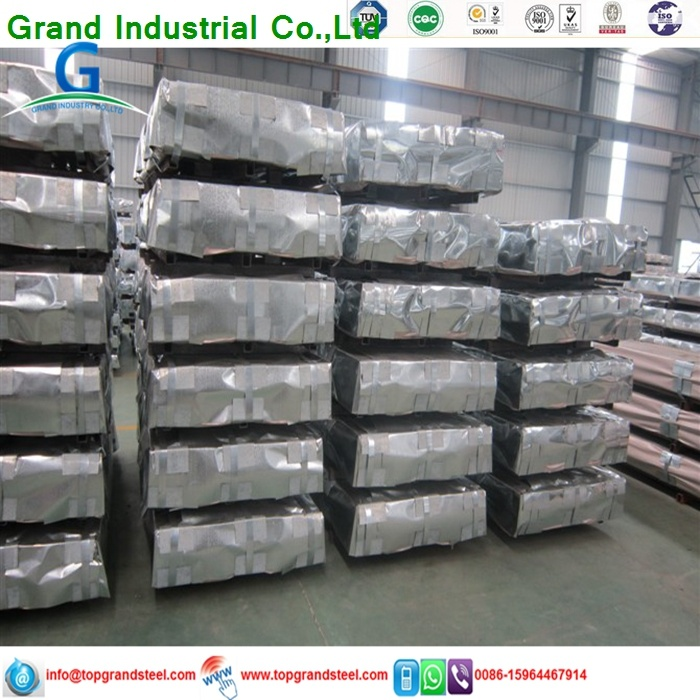 SGCC Galvanized Corrugated Roofing Sheet