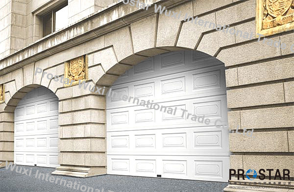 Quality Sectional Door for Garage with Multiple Window Styles