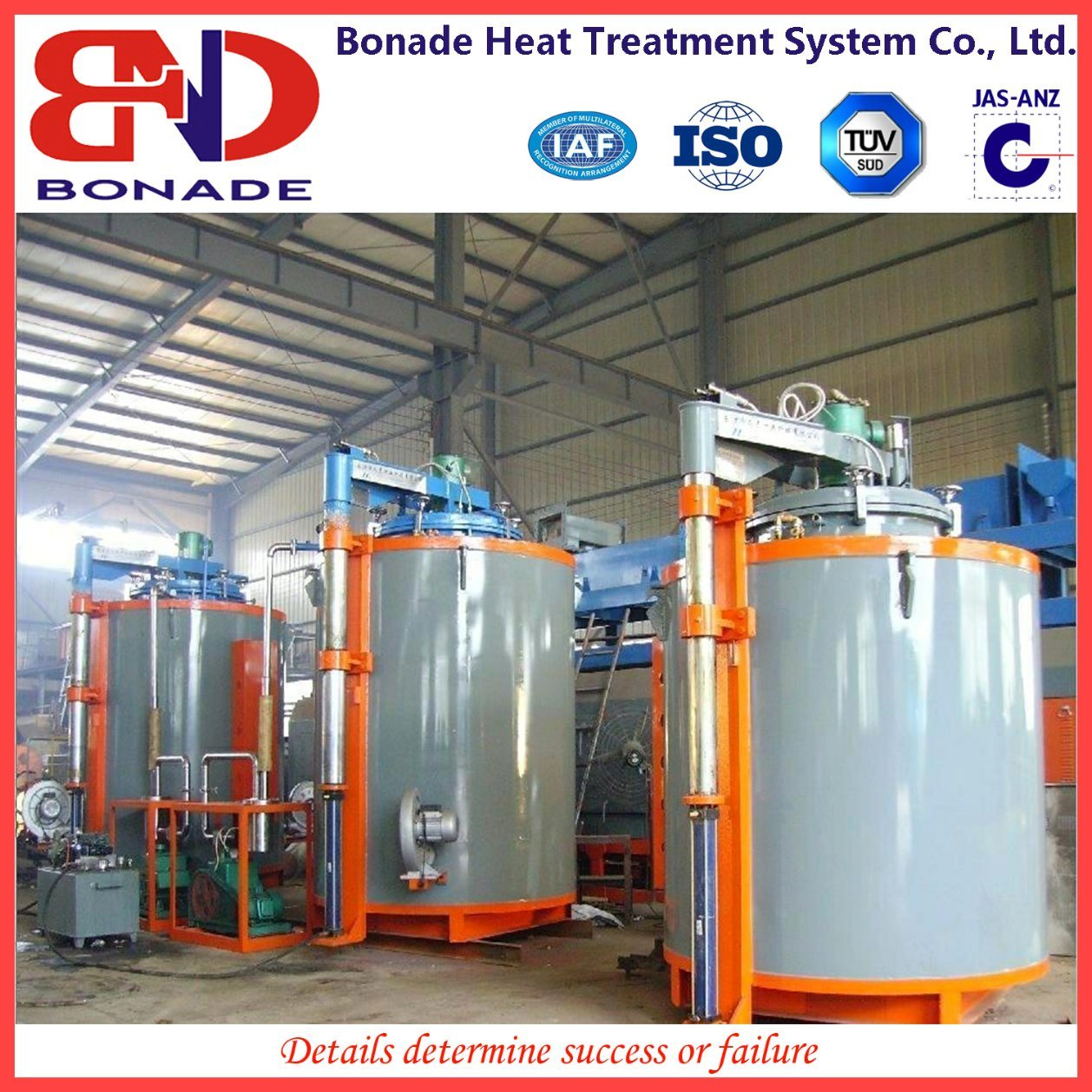 Pit Type Tempering Furnace for Heat Treatment
