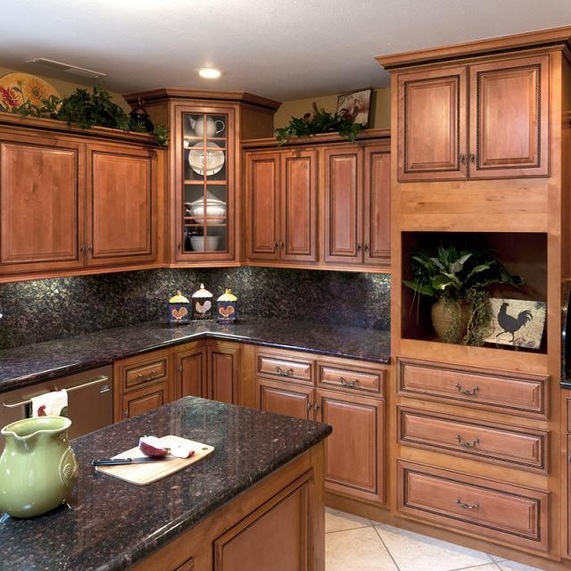 China Maple Wood Rta Kitchen Cabinet-Raised Panel Square ...