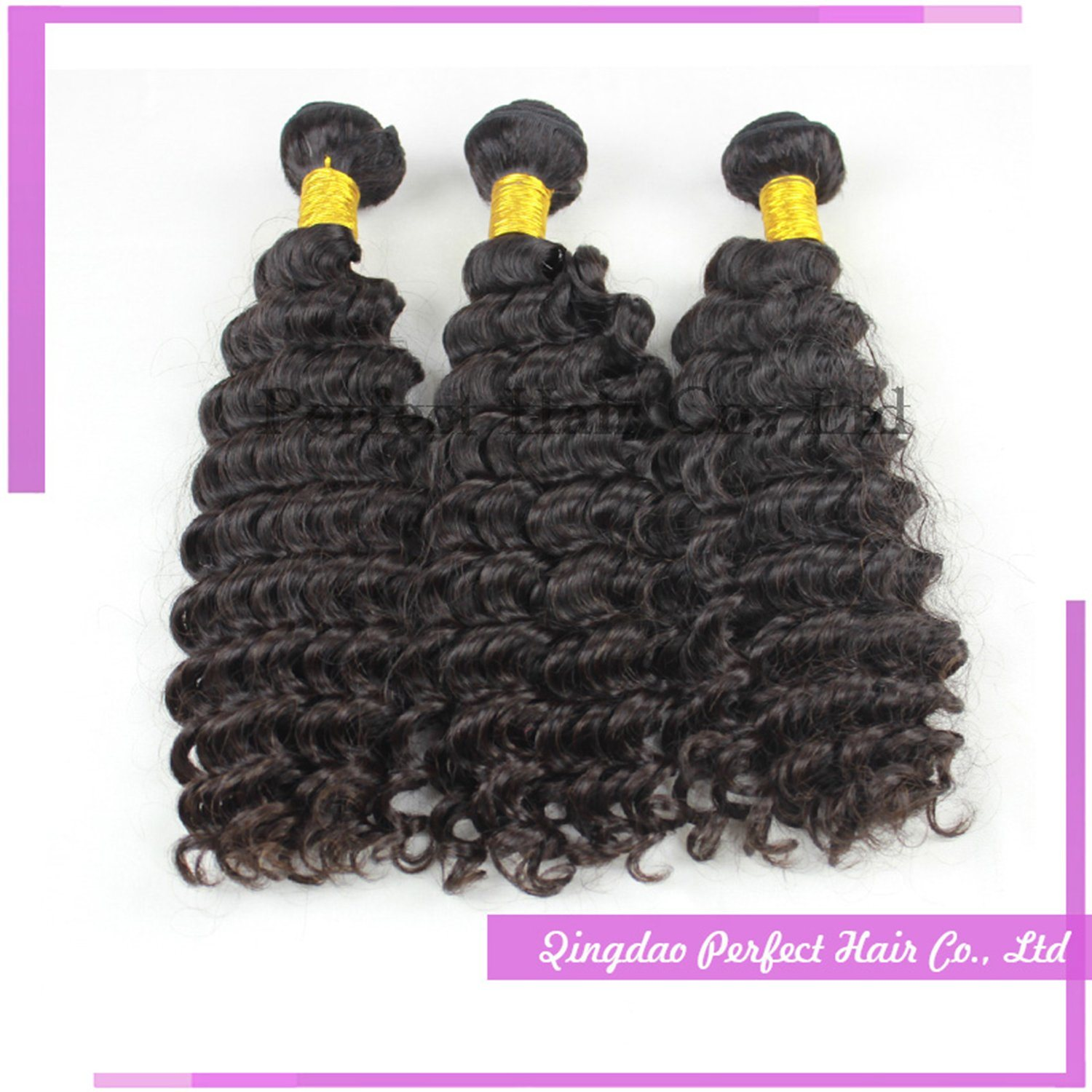 China New Hair Styles Good Price Dark Brown Curly Hair Extensions