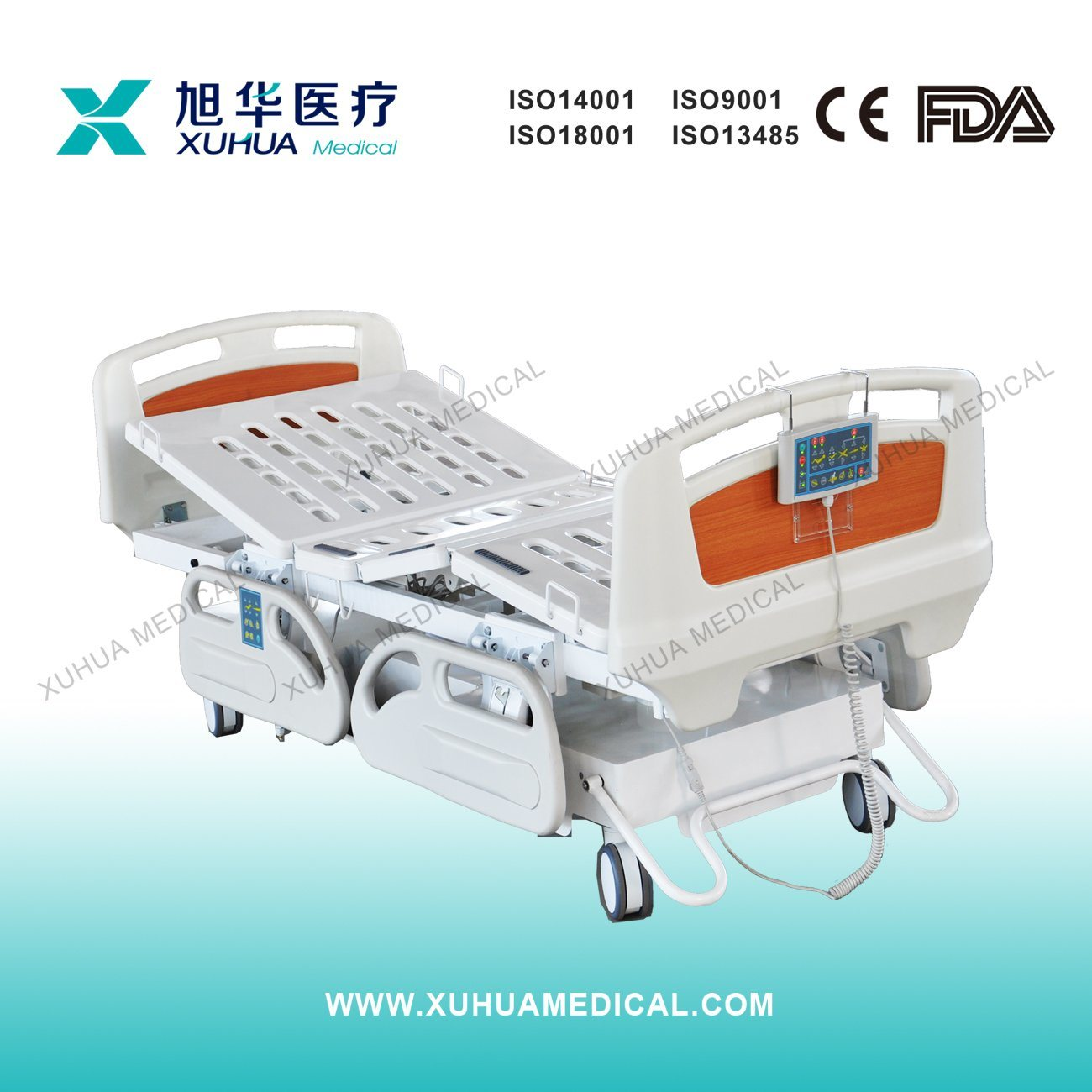 Type- a Seven Functions Electric Hospital Bed