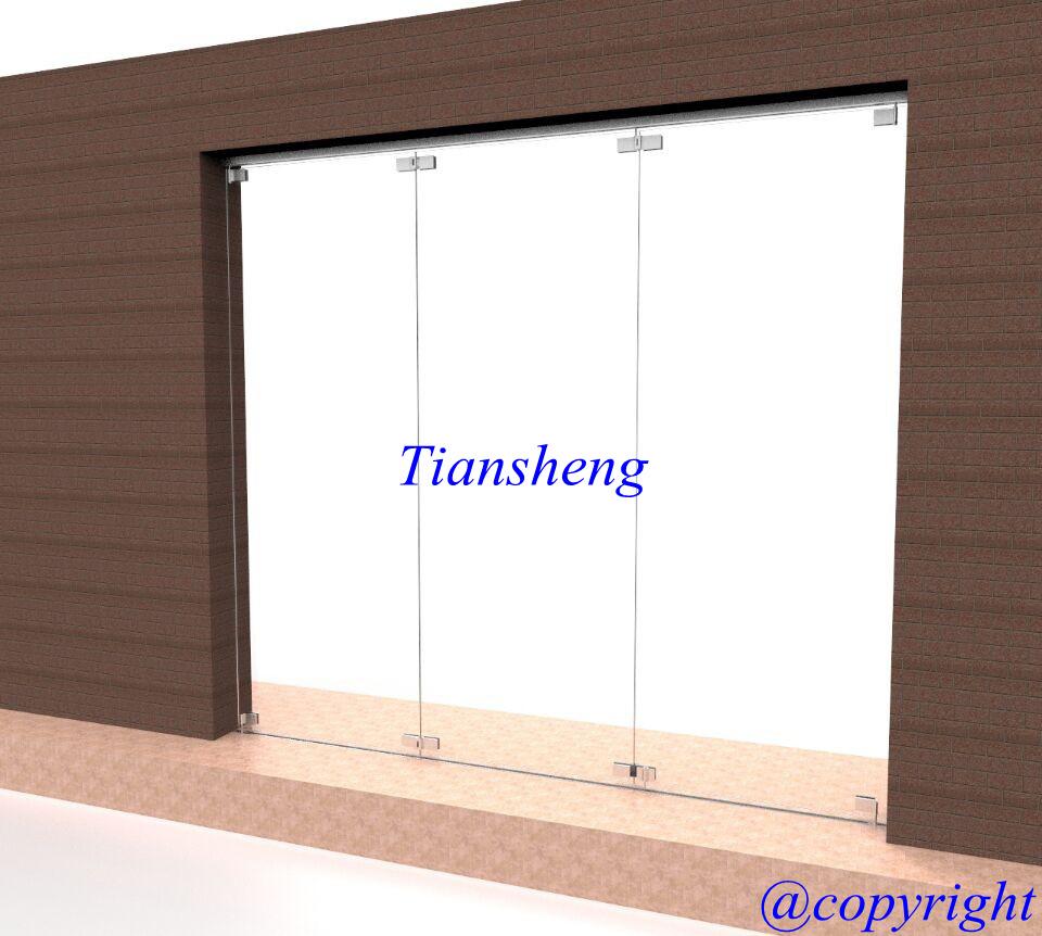 Frameless Glass Folding Doors, Frameless Interior Doors, Glass Doors