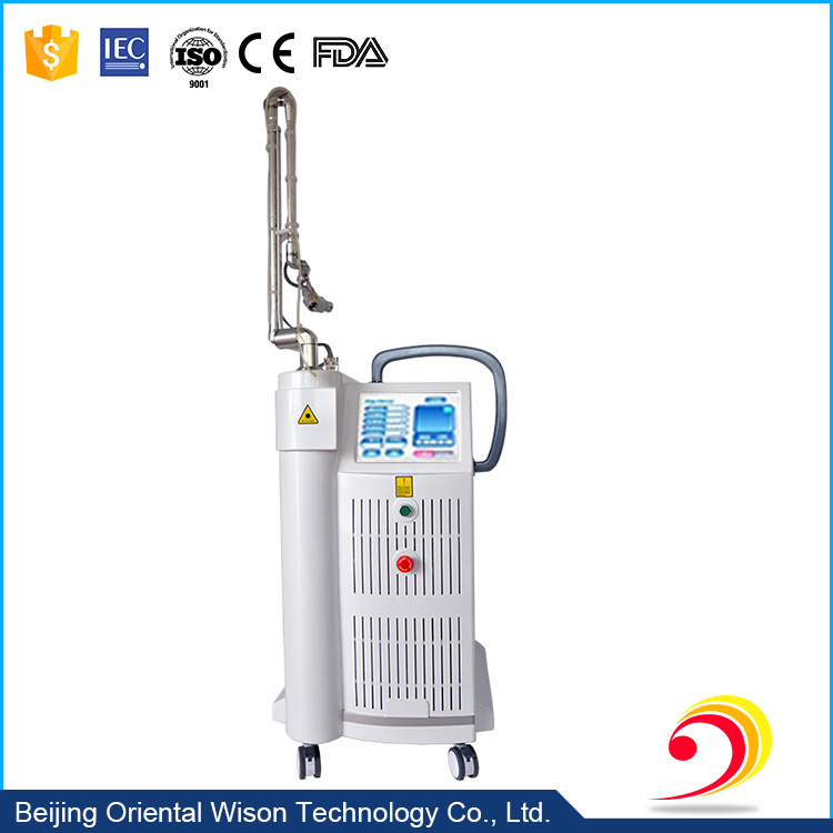 10 Inches Screen 10600nm RF Drive CO2 Fractional Laser Machine