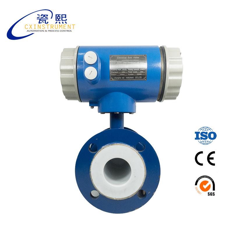 Cixi Pipeline Digital Magnetic Water Flow Meter Price pictures & photos