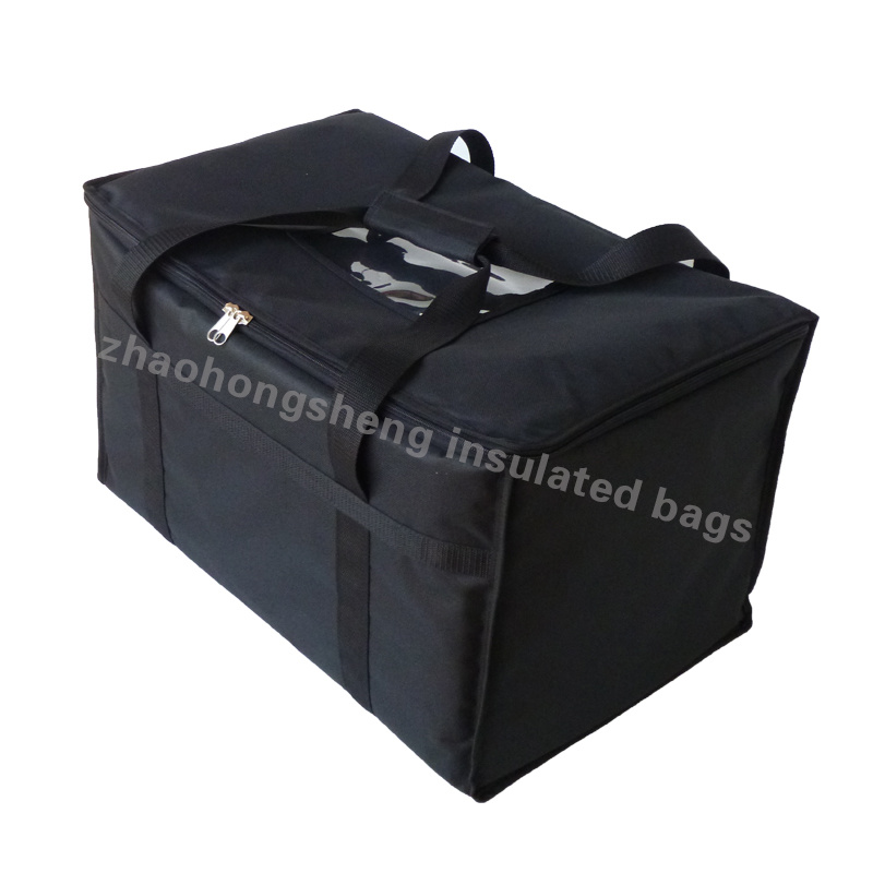 China Large Insulated Thermal Hot Food Pizza Catering Delivery Bags Custom Logo Bag