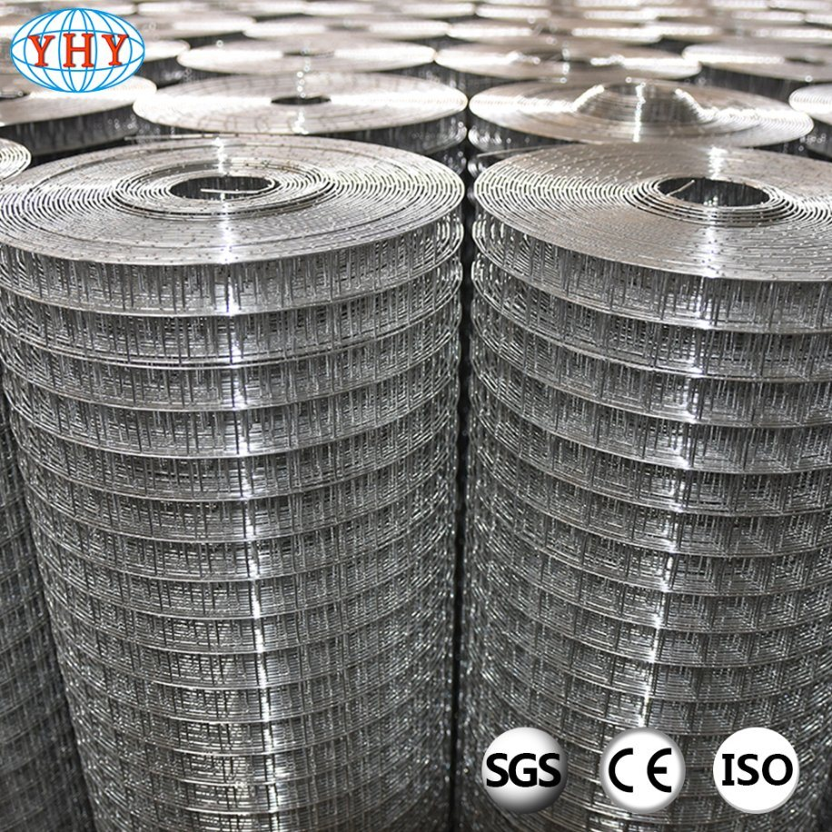 China 1/2 Inch Square Hole Galvanized Welded Wire Mesh Photos ...