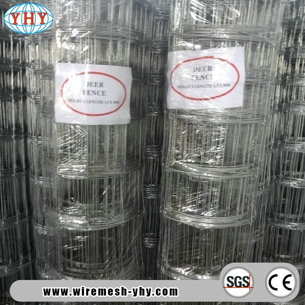 China 39inch Class3 Galvanized Field Fence with Fence Post and ...