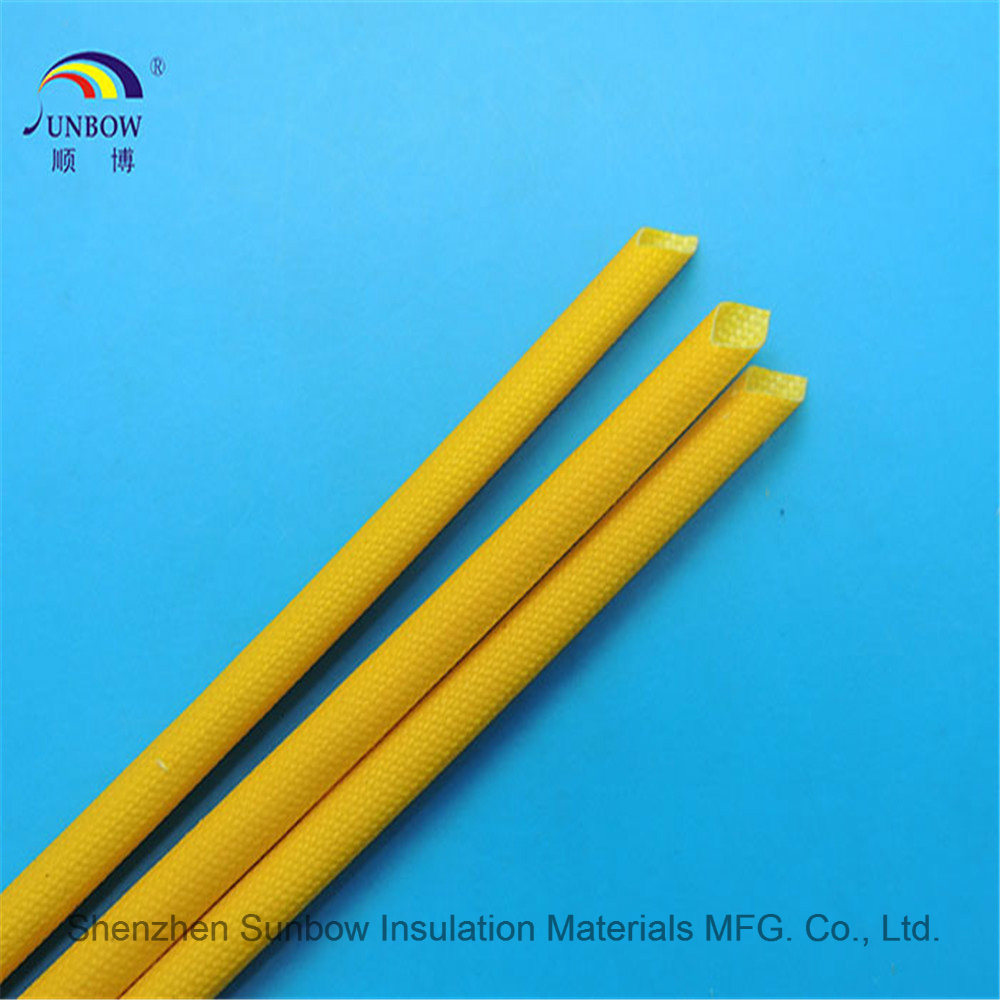 China Silicone Fiberglass Sleeving For Wire Harness Cable Protection