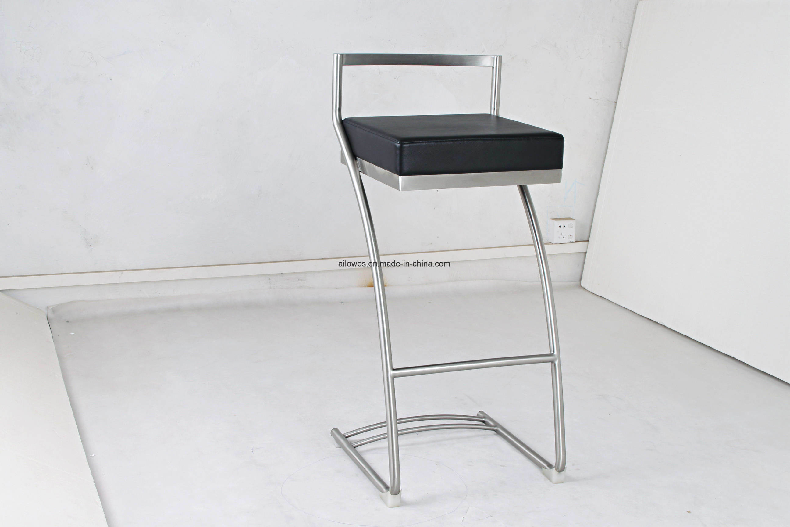 Magnificent China Pu Seat Stainless Steel Stool Bar Chair For Heavy Uwap Interior Chair Design Uwaporg