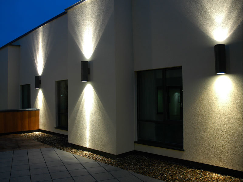 Hot Item Yellow Lighting Outdoor Led Wall Light With Ce Rohs