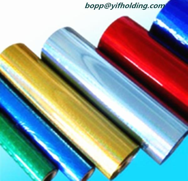 Metallized Vacuum Polyester Film Gold for Decoration
