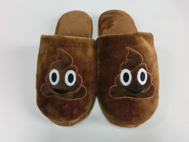 2017 New Popular Emoji Indoor TPR Slipper