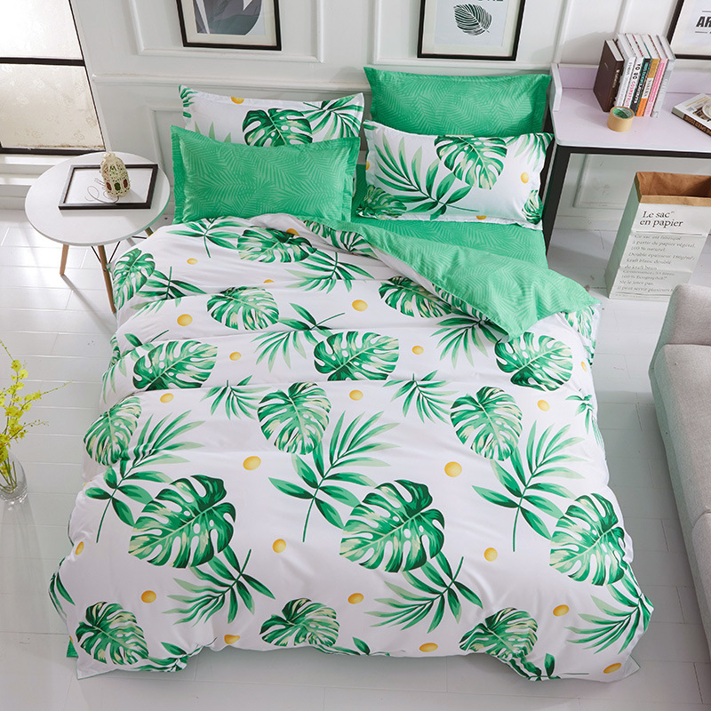 China Bedding Set Queen Size Plant Home