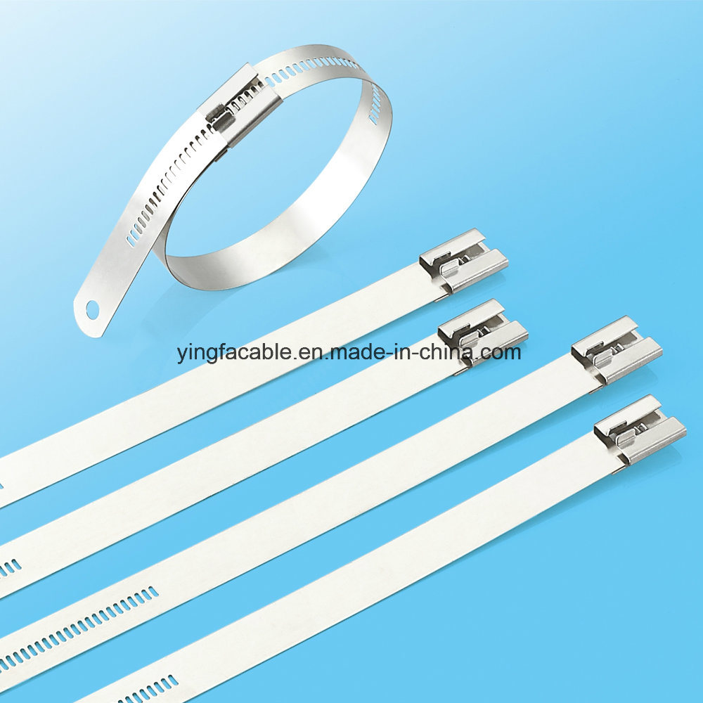 China Stainless Steel Releasable Type Cable Tie with High Tensile ...