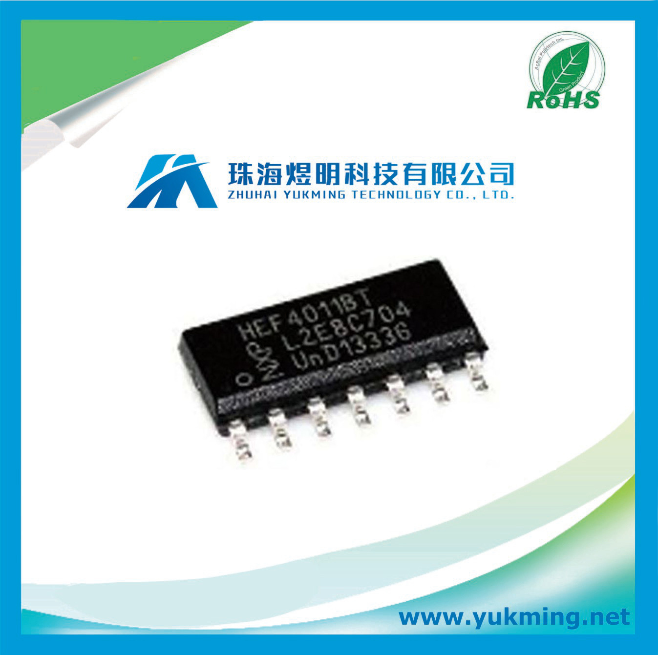 China Integrated Circuit Of Nand Gate Logic Ic Hef4011bt Circuits