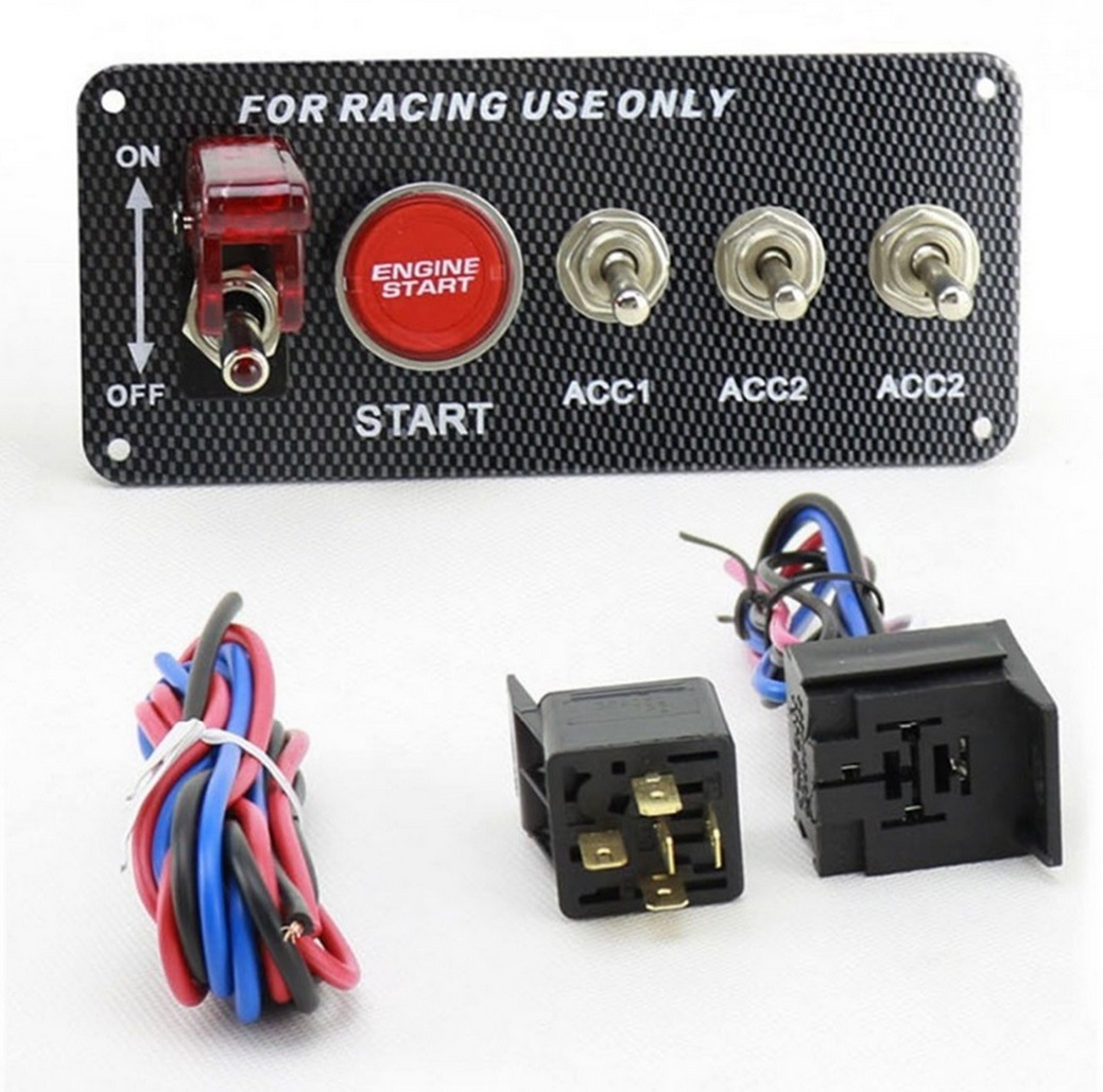 Is Using A Switch To Power Ignition And A Momentary Switch To Start