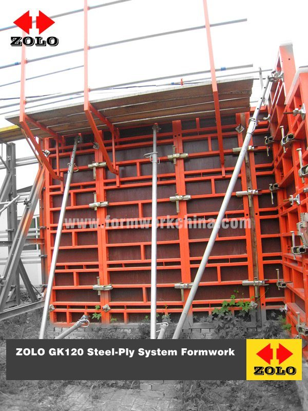 [Hot Item] Zolo Gk120 Steel-Ply Robust Panel Formwork for Column and Wall