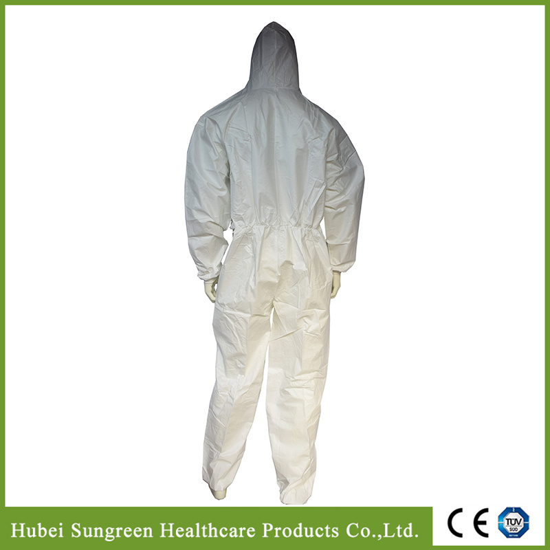 Microporous Waterproof Coverall, Sf Coverall