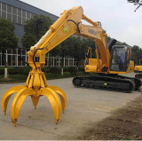 Hydraulic Orange Peel Grab for Ex260 Excavator