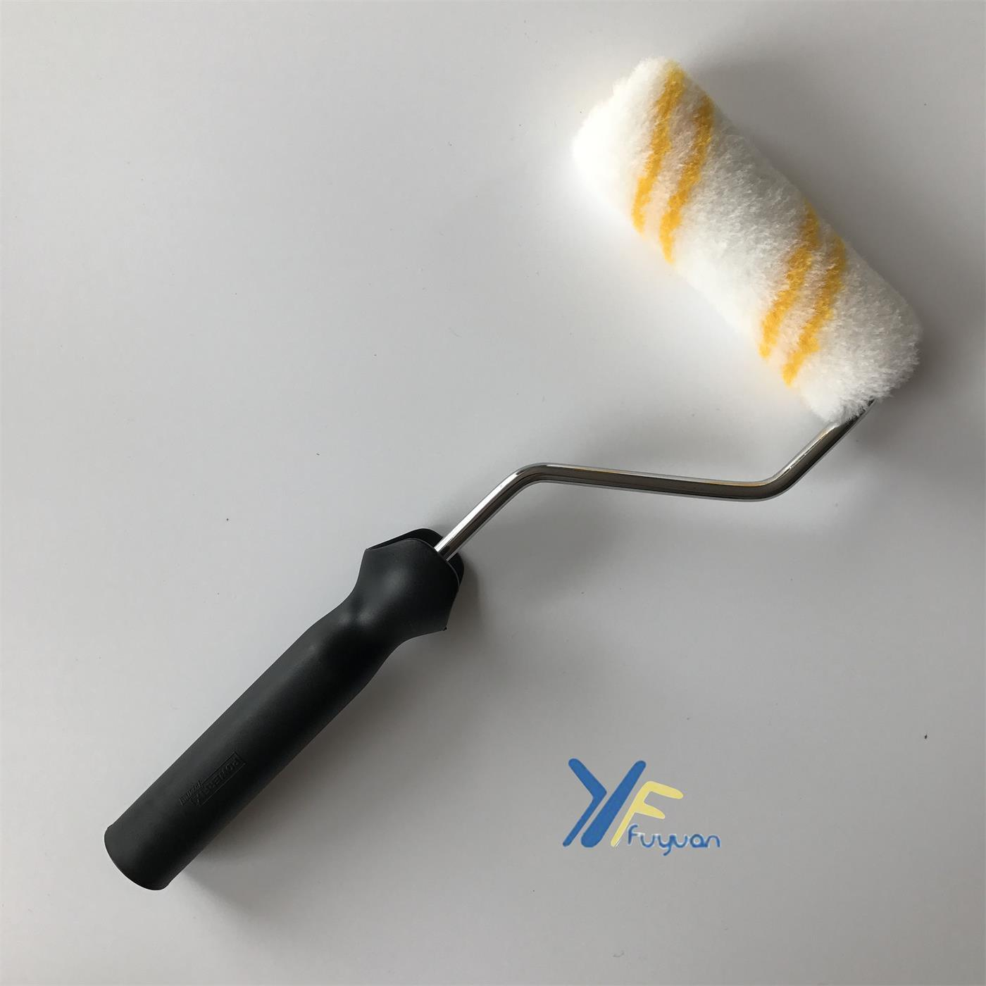 4′′ Acrylic Mini Double-Yellow Stripe Paint Roller