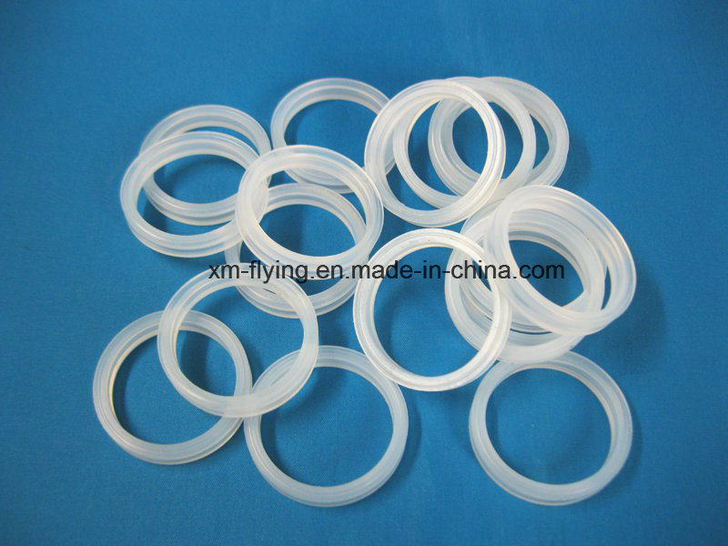 China Food Grade Clear Silicone Rubber Gasket Sealing Ring for ...