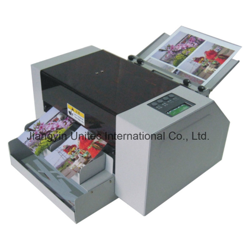 China Factory Price A4 Semi- Automatic Business Card Slitter Cutting ...