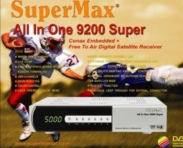 [Hot Item] Digital Satellite Receiver Supermax 9200 6000ci 9500