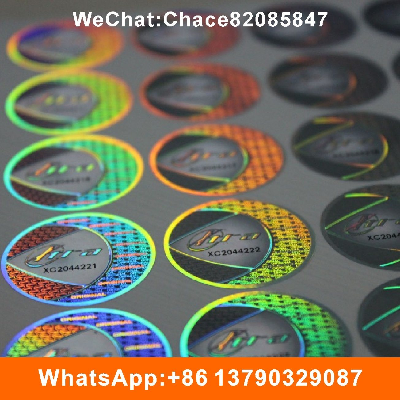 China 3d laser custom security hologram sticker label china hologram sticker hologram label