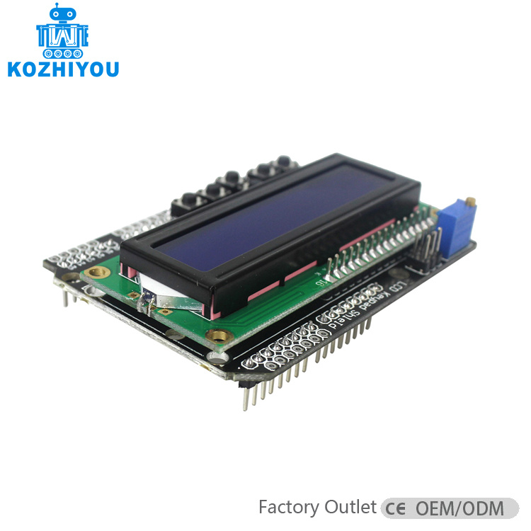 Active Components Lcd Keypad Shield Of The Lcd1602 Character Lcd Input And Output Expansion Board