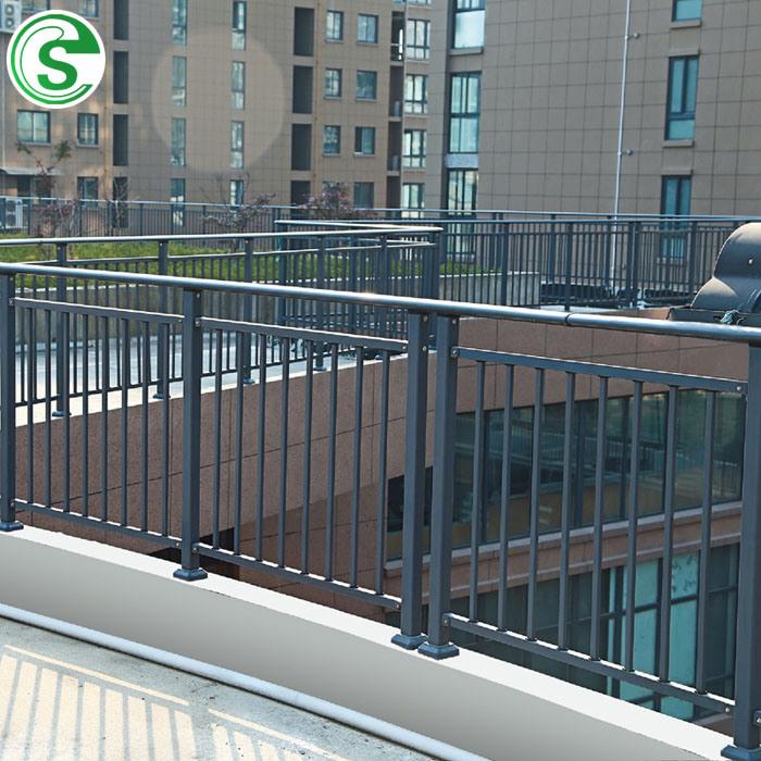China Steel Tubular Outdoor Balcony Stair Railing