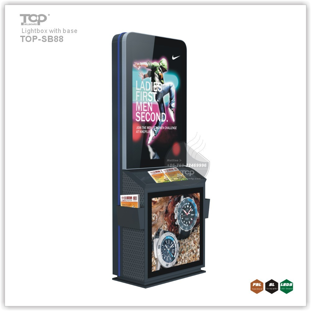 Stand Outdoor Scroller LED Advertising Light Box pictures & photos
