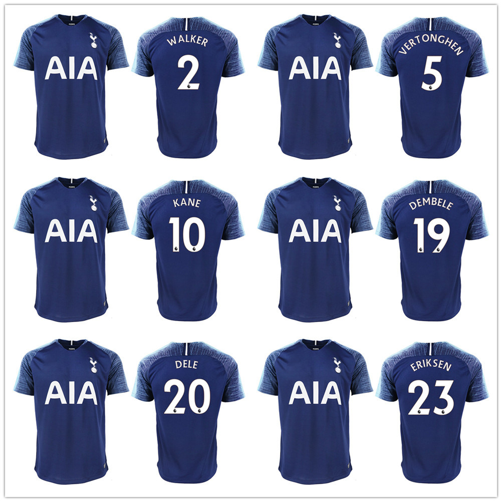 best service bdd4f 47bee [Hot Item] Thailand Kane Spurs Soccer Jersey Eriksen Dele Football Kit Shirt