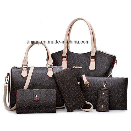 China Fashion Handbag Leather Handbags Lady Hand Bag Women Bag ... c5e1bdab9fda5