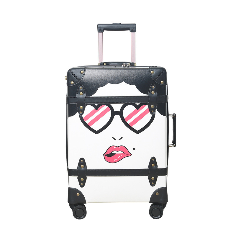 China Durable Cartoon Teenager Custom Printing School Cabin Travel Bag China Travel Luggage Bags Kids And Spinner Luggage Trolley Suitcase Price