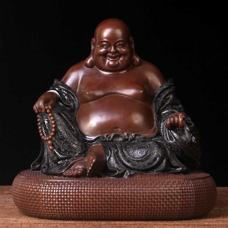 China The Antique Fat Buddha Statue Buddha Shown Smiling With Big Belly China Buddha Bronze Sculpture And Bronze Statue Reproduces Price