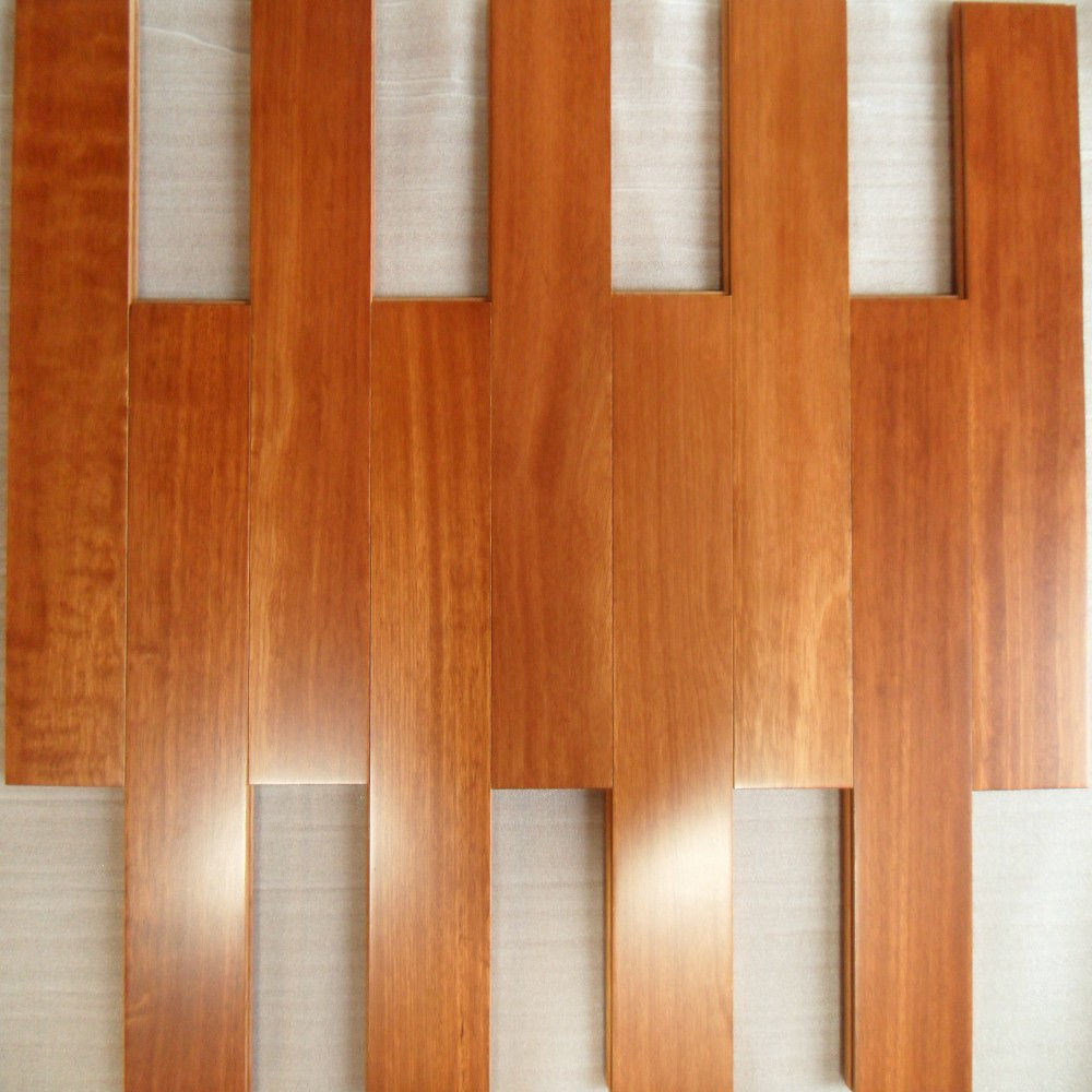 China Kempas Engineered Wood Flooring With Natural Color Floor