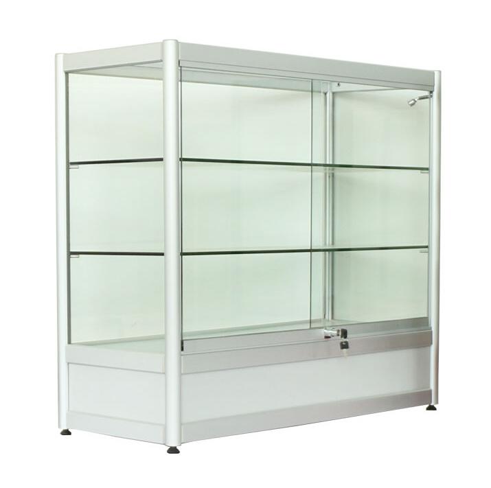 Portable Exhibition Cabinet : China aluminum portable exhibition stand display cabinet for