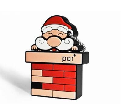 Father Christmas Cartoon Images.Hot Item Cartoon Santa Claus Father Christmas Usb Flash Drive Gift