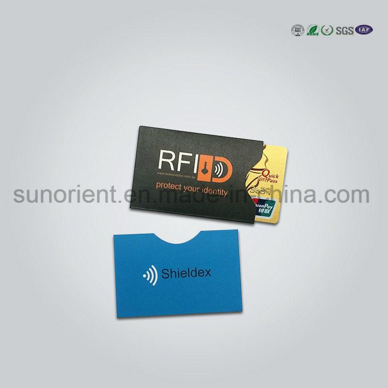 China RFID Blocking Business Credit Card Holder, Embossed Logo ...