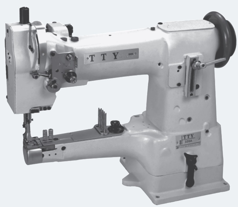 China TY40A CylinderBed Compound Feed Binding Sewing Machine Mesmerizing Binding Sewing Machine